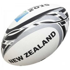 Мяч для регби GILBERT RWC2015 Supporter New Zealand р.5
