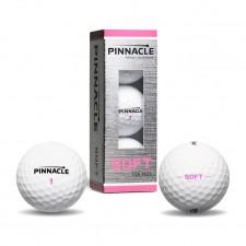 Мяч для гольфа Pinnacle Soft PINK Play арт.6025S-BIL