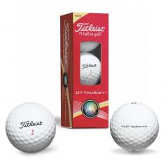 Мяч для гольфа Titleist DT TruSoft арт.T6032S-NP