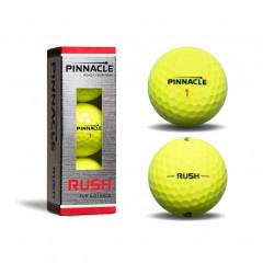 Мяч для гольфа Pinnacle Rushарт. P4134S-BIL 3шт желтый