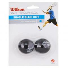 Мяч для сквоша Wilson Staff Blue арт. WRT617500