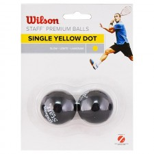Мяч для сквоша Wilson Staff Yellow арт.WRT617800