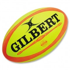 Мяч для регби GILBERT Omega р.5 желто-оранжевый