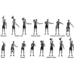Гиря для кроссфита Titan 24 кг чугунная