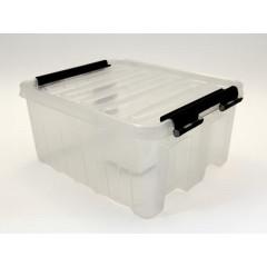 Ящик пластиковый с крышкой 16л арт.016-00.07
