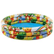 Надувной детский бассейн Intex Winnie The Pooh Three Ring 58915 (147x33см)