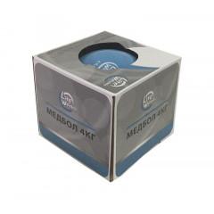 Медбол Lite Weights 1704LW 4кг (голубой)