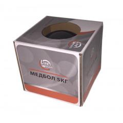 Медбол Lite Weights 1705LW 5кг антрацит