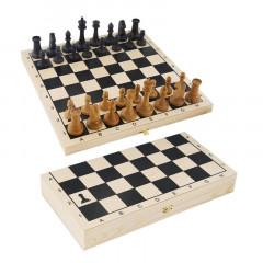 Шахматы Гроссмейстерские деревянные с доской арт. G5335 (20*40*6 см)
