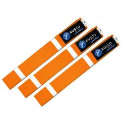 Пояс для карате  RUSCO SPORT  (оранжевый, р.260)