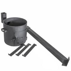 Комплект казан 16 л + ус. печь с трубой + аксессуары