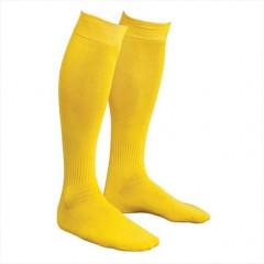 Гетры футбольные желтые р. 39-41