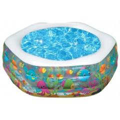 Бассейн надувной Intex 56493 Ocean Reef Pool (191х178х61см) 6+