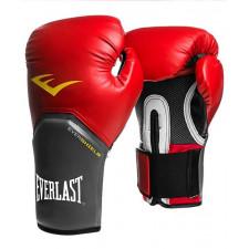 Перчатки боксерские Everlast Pro Style Elite 2114E 14 унций к/з красные