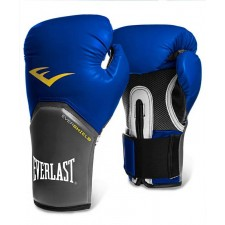 Перчатки боксерские Everlast Pro Style Elite 2210E 10 унций к/з синие