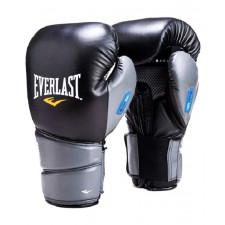 Перчатки боксерские Everlast Protex2 GEL 10 унций к/з черные