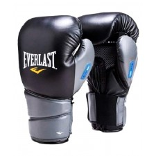 Перчатки боксерские Everlast Protex2 GEL S/M к/з черные