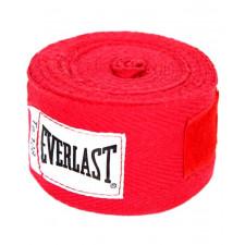 Бинт боксерский Everlast 4455RP 2.75м  красный