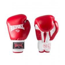 Перчатки боксерские Reyvel RV-101 12 унций к/з красные