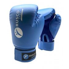 Перчатки боксерские Rusco 8 унций к/з синие
