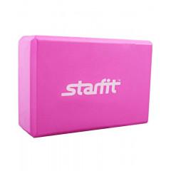 Блок для йоги STARFIT FA-101 EVA розовый