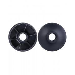 Комплект колец Berger для скандинавских палок 2 шт.,чёрный