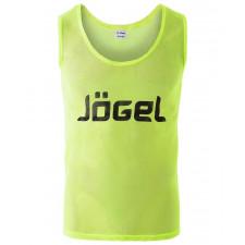 Манишка сетчатая Jogel JBIB-1001 взрослая, лимонный р.48-50