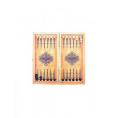 Нарды маленькие с деревянными шашками, цвет в ассорт.