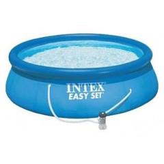 Надувной бассейн Intex 28142 Easy Set Pool (396х84см)