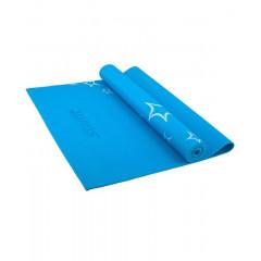 Коврик для йоги StarFit FM-102 (173x61x0,6 см) с рисунком синий