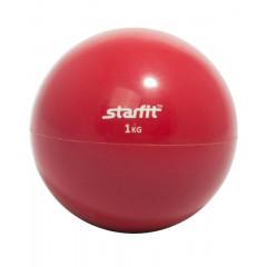Медбол StarFit GB-703 1 кг красный