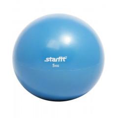 Медбол StarFit GB-703 5 кг синий