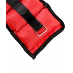 Утяжелители универсальные STARFIT WT-401 1 кг*2шт , красный