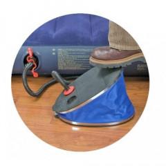 Насос-помпа INTEX 68610 большой ножной 30см + 3 насадки синий