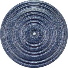 Диск здоровья арт.MR-D-02 d.28 см синий/черный