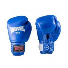 Перчатки боксерские Reyvel RV-101 14 унций синие