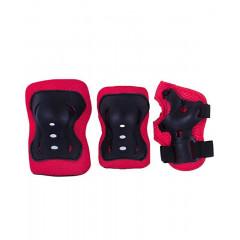 Комплект защиты Ridex Rocket р.S красный/черный
