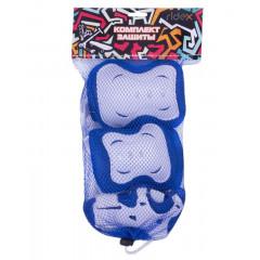 Комплект защиты Ridex Rocket р.L синий/белый