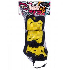Комплект защиты Ridex Rocket р.L черный/желтый