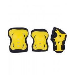 Комплект защиты Ridex Rocket р.S черный/желтый