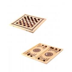 Набор 3 в 1 (Шахматы, нарды и шашки) 400х200х36