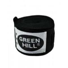 Бинт боксерский Green Hill BP-6232a 2,5м черный