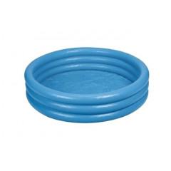 Бассейн Intex 58446 голубой, 3 кольца (147х33см) 3+