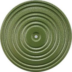 Диск здоровья арт.MR-D-03 диаметр 28 см зеленый/черный