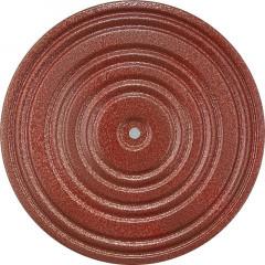 Диск здоровья арт.MR-D-04 диаметр 28 см красный/черный