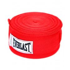 Бинт боксерский Everlast 4466RD 3.5 м красный