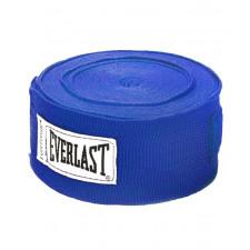 Бинт боксерский Everlast 4463BL 2.5 м синий