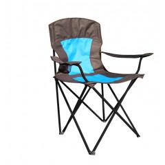 Кресло кемпинговое складное с подстаканником RK-0103