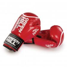 Перчатки боксерские Green Hill Panther BGP-2098 10 унций  красные