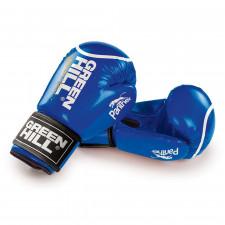 Перчатки боксерские Green Hill Panther BGP-2098 12 унций  синие